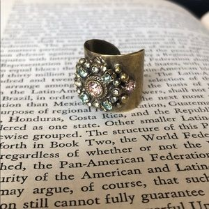 Sorrelli One of a Kind Cuff Ring